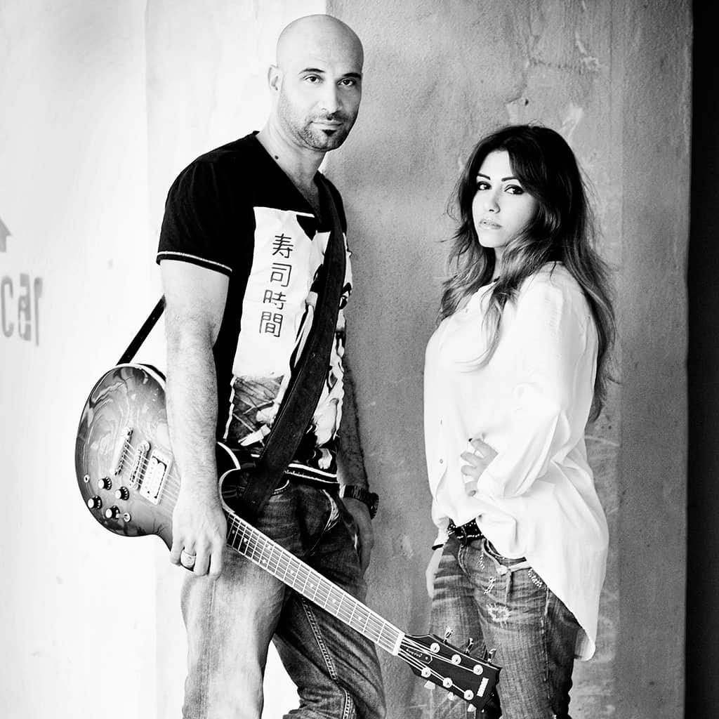 Guitarist Jacinto Mendez and Singer Nasila Rezai