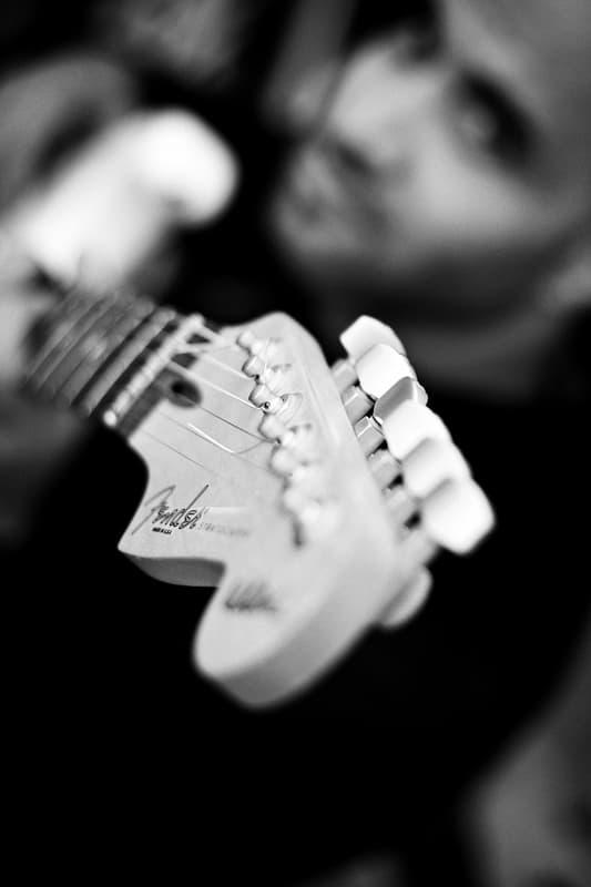 Jacinto Mendez Fender Stratocaster Gitarre
